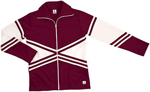 Instock Dbl Knit X-Wrm-Up Jacket Maroon X-Small