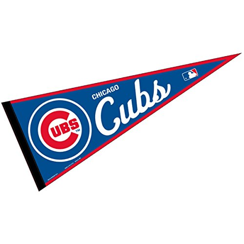 WinCraft Chicago Cubs MLB Large Pennant ()