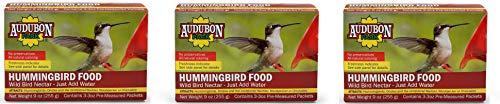 Audubon Park 1661 Hummingbird Food Nectar Powder, 9-Ounce (3-Pack)