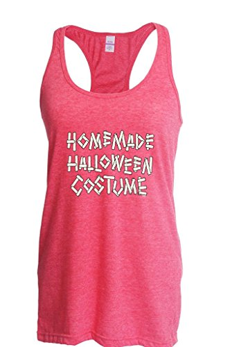 Blue Tees Homemade Halloween Costume Fashion Party People Best Friends Gift Couples Gifts Women Racerback Tank Clothes X-Large Heather (Homemade Costume Dog Halloween)
