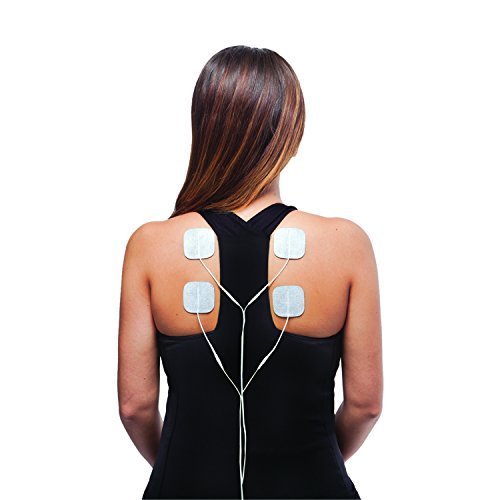 Zewa FDA Approved SpaBuddy Sport TENS Drug Free Affordable Pain Relief Electronic Pulse Massager Back Pain Knee Pain Arthritis Relief
