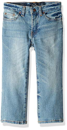 Lucky Brand Boys' Little 5-Pocket Classic Straight Jean, Eastvale, 6