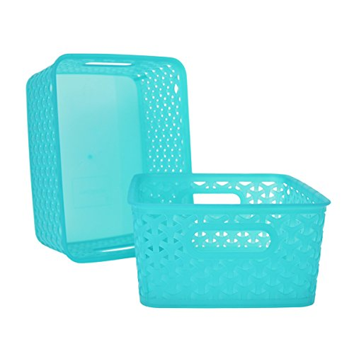 Check expert advices for baskets turquoise?