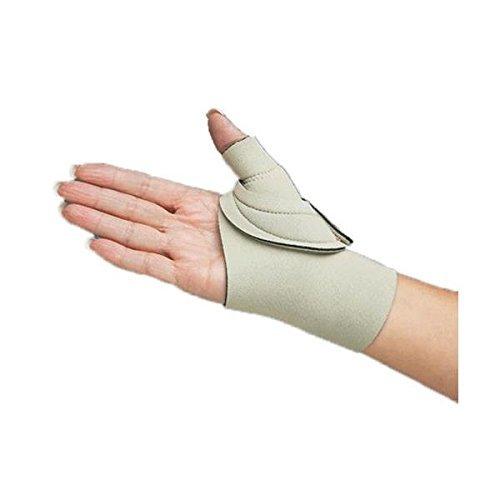 Comfort Cool Thumb CMC Restriction Splint, Beige - Left Medium Plus 7-7/8
