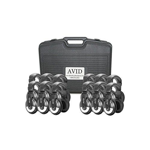Avid Technology 12Cpsmb25vc   Avid Education Smb 25Vc Classroom Black Silver Headphones With M