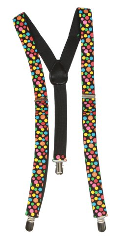 Clover 3 Clip Stretchable Suspenders
