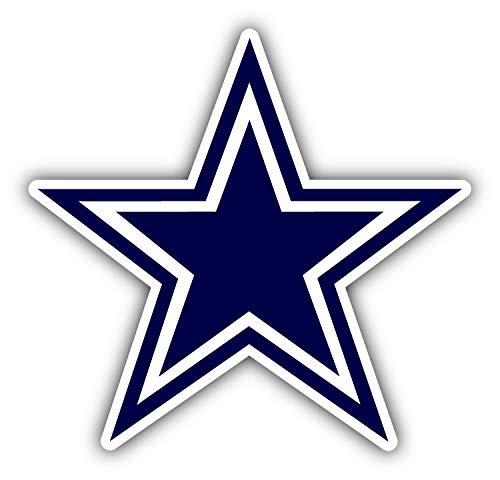 Dallas Symbol Logo Car Bumper Sticker Decal 5 X 5 hotprint Cowboys Football