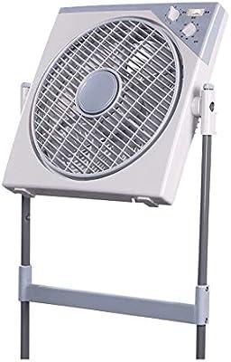 Mini Ventilador de enfriamiento Ventilador eléctrico Ventilador de Giro Ventilador de Suelo silencioso Ventilador: Amazon.es: Hogar