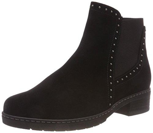Shoes Botines Comfort Femme Gabor micro 47 Noir Sport schwarz BOfpxwq