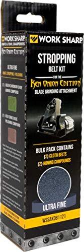(Work Sharp Blade Grinder Cloth Belt Stropping Kit Ken Onion Edition)