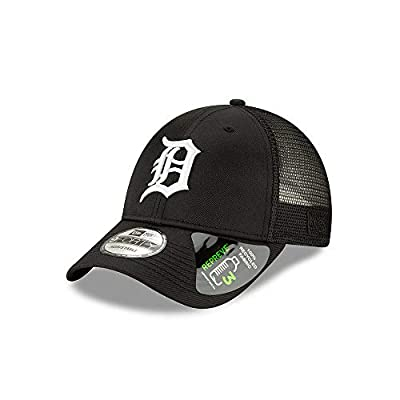 New Era Detroit Tigers Repreve Recycled Fabric 9FORTY Adjustable Trucker Hat/Cap