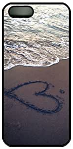 Beach View Heart In The Sand Theme Iphone 5 5S Case