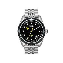 NIXON Reloj Analógico para Mujer de Cuarzo con Correa en Acero Inoxidable A12372971