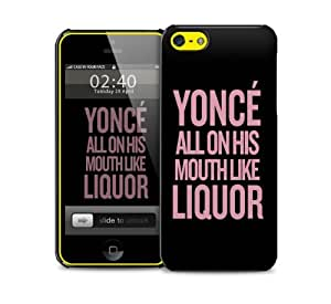 yonce liquor iPhone 5c protective phone case