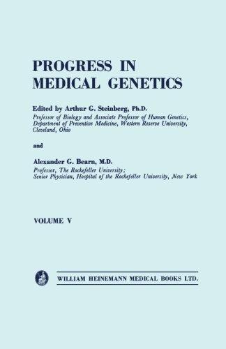 Download Progress in Medical Genetics: Volume 5 pdf epub