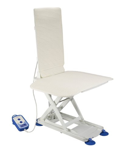 Drive Medical Aquajoy Premier Plus Reclining Bathlift, White by Drive Medical