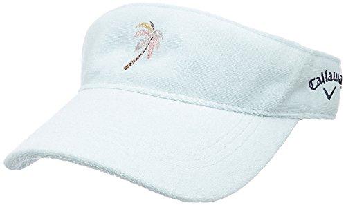 (キャロウェイ アパレル) Callaway Apparel [ レディース] パイル サンバイザー (サイズ調整) / 241-8184808 / 帽子 ゴルフ