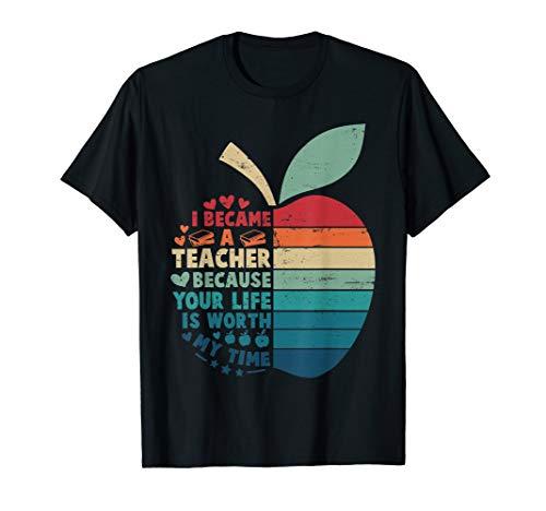Your Teacher Com (I became a Teacher because Your life is worth my time Retro)