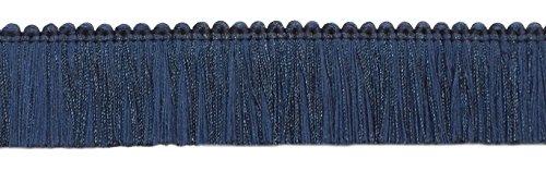 Cut Fringe Brush (DecoPro 5.4 Yard Value Pack of Navy, 1 3/4