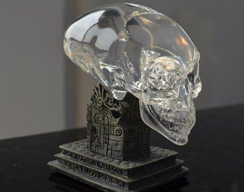 T51 Replica Resin Indiana Jones Kingdom of Crystal Alien Skull Figure Statue