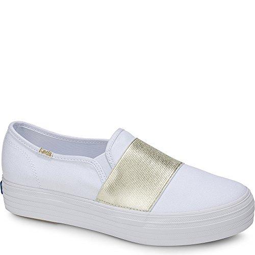 428854d1414 Galleon - Keds Women s Triple Bandeau Canvas Sneaker