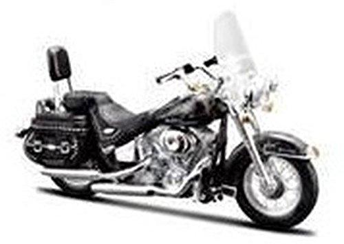 1 18 Harley Davidson 2002 Flstc Heritage Softail Classic