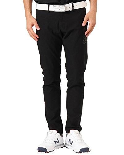 予約ピーク電子[ガッチャ ゴルフ] GOTCHA GOLF パンツ メンズ ベーシック スーパー ストレッチ ロングパンツ 99GG1800 ブラック XLサイズ