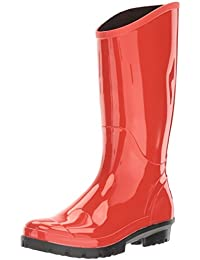 Amazon.com: Orange - Rain Boots / Rain Footwear: Clothing, Shoes ...