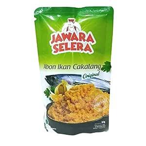 Jawara Selera Abon Ikan Cakalang - Skipjack Floss - Original - 90gr (pack of 3)