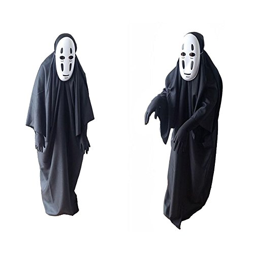 MARIAN 2017 Halloween Costume Adults Ghost Complete Set Cosplay for Couples Men (Creative Halloween Costume Ideas For Adults 2017)