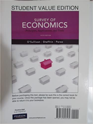 Survey of economics (with bind-in infotrac printed access card.