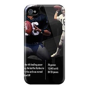 JamieBratt Iphone 4/4s Best Hard Phone Cover Provide Private Custom Lifelike Oakland Raiders Skin [wcF15310CmLj]