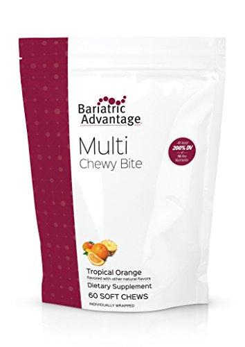 Bariatric Advantage - Multi Chewy Bite - Tropical Orange, 60 Count ()