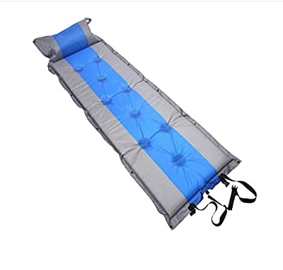 Outdoor Automatic Inflatable Mat Camping Tray Sleeping Mat Color Matching 9 Point Single Air Mat 190605