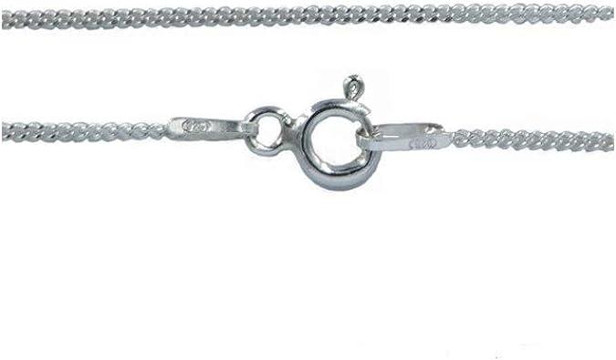 Argent 925 Sterling Longueur 45 cm Largeur 1,1 mm Poids 1,45 g Laparella Jewelry Cha/îne Bijoux-Collier