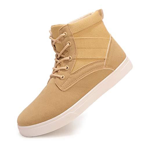 Stivali Qianliuk Sneakers Calzature Uomini comode Flats Scarpe Mocassini Business Giallo Uomo an6Wn