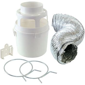 Amazon Com Lambro 60640 Indoor Dryer Vent Kit Appliances