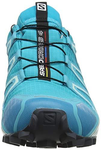 4 Speedcross Donna Morning ebony Azzurrobluebird Salomon Da GtxScarpe Trail Running icy 8O0PnwkX