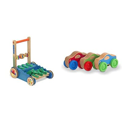 Melissa & Doug Chomp Clack Alligator & Stacking Cars Bundle: Toys & Games [5Bkhe1902532]