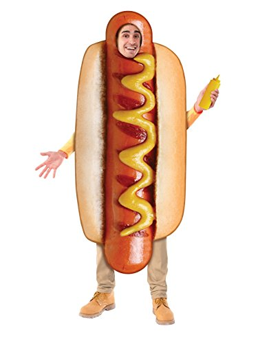 Forum Novelties Lightweight Hot Dog Costume for Adults, One size]()