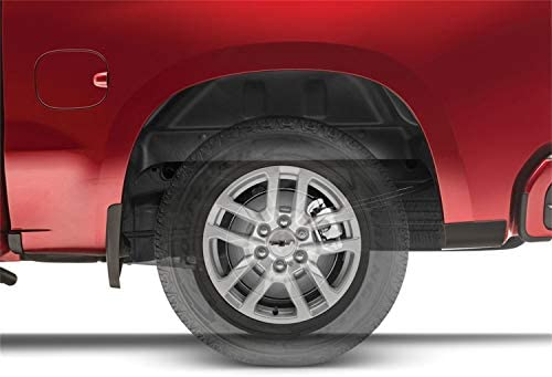 2019 Silverado 1500 LD 15-19 2500//3500-no overloads Husky Liners 79011 Black Rear Wheel Well Guards Fits 14-18