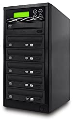 Sata Dvd Duplicator - 5 Target Standalone Cd Dvd Duplicator With Sata Dvdrw