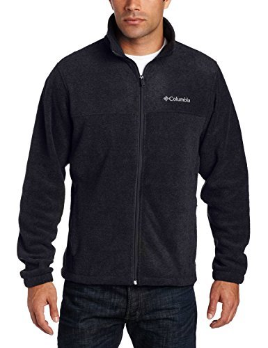 Columbia Men's Granite Mountain Fleece Jacket-Black-Large