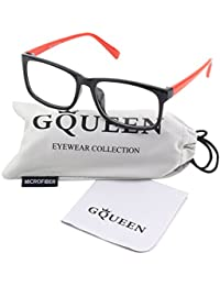 201512 Casual Fashion Rectangular Frame Clear Lens Eye...