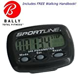Bally Fitness Gear 340 Step and Distance Pedometer