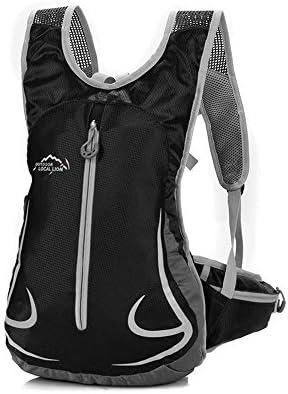 7ac9f607a1e KUKOME 14L Cycling Backpack for Women Men Trekking Travel Hiking Camping  (Black)