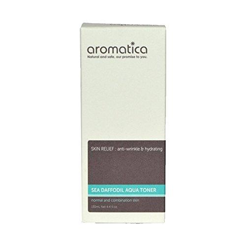 海スイセンアクアトナー130ミリリットル x2 - aromatica Sea Daffodil Aqua Toner 130ml (Pack of 2) [並行輸入品] B071RMSB58