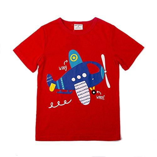 Backbuy Niño Camisetas de Manga Corta Dibujos Animados Algodón Casual  Tamaño 18meses-6años Buena b21bbf9e3d0