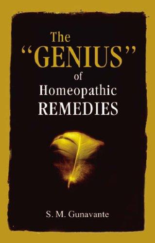 The Genius Of Homoeopathic Remedies