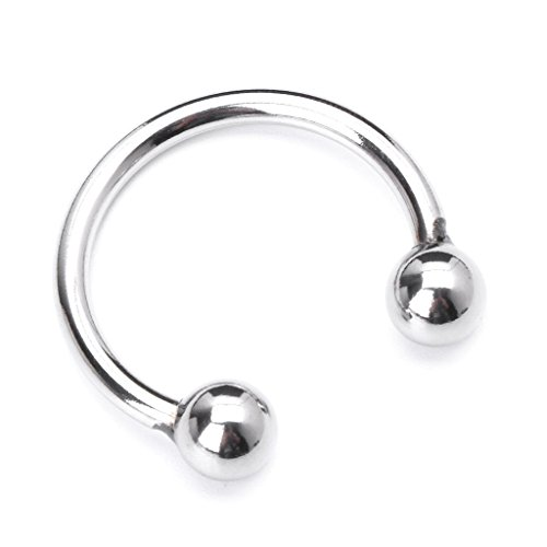 Amorr 30mm Stainless Steel Co Ckring Rings for Sex for Men-Silver 02161 (Ring Toy Sex)